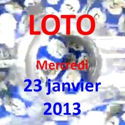 Résultat du LOTO - tirage du mercredi 23 janvier 2013