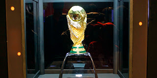 FIFI World Cup Trophy in Cairo