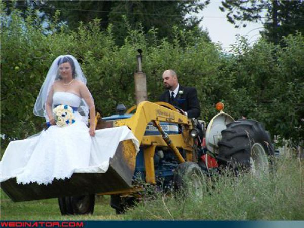 this is happened,When a road constructor marry someone!