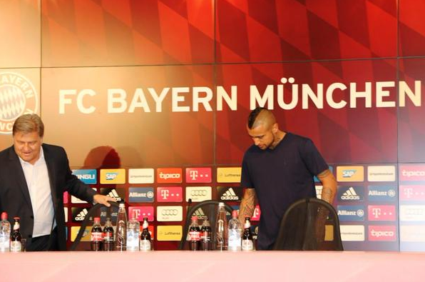 DEAL DONE: Bayern Munich have signed Arturo Vidal from Juventus for €37m