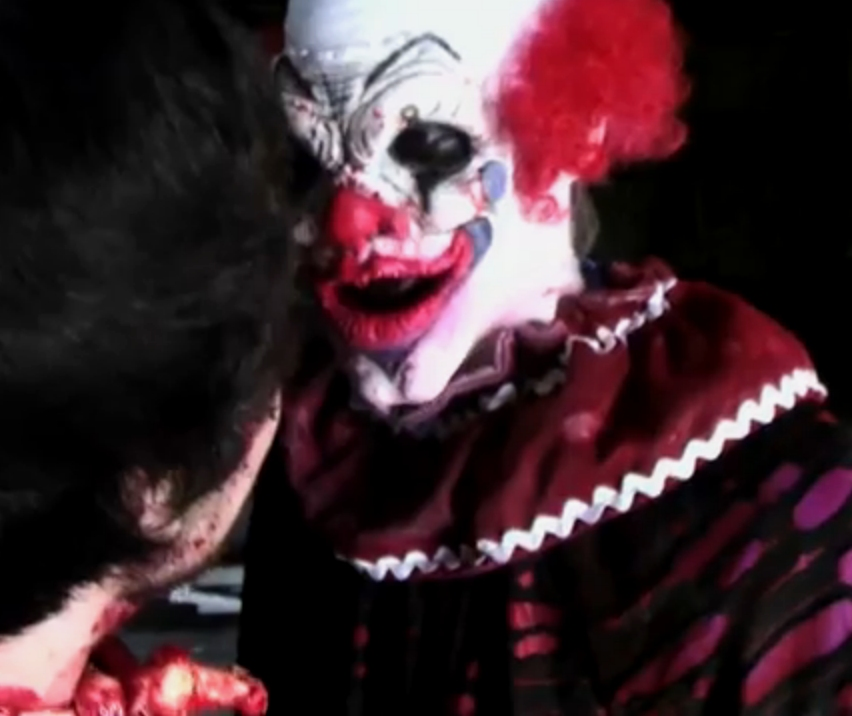 The sky has fallen for Killer clown movie