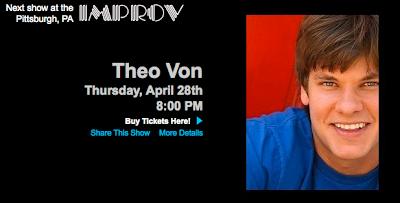 Theo Von MTV Comedy Improv Pittsburgh