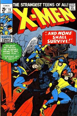 X-Men #70, Jack Kirby