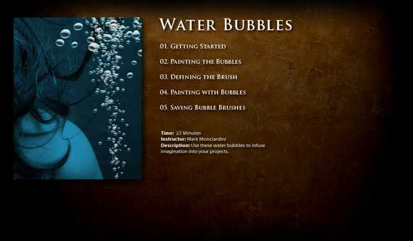 Water Bubbles