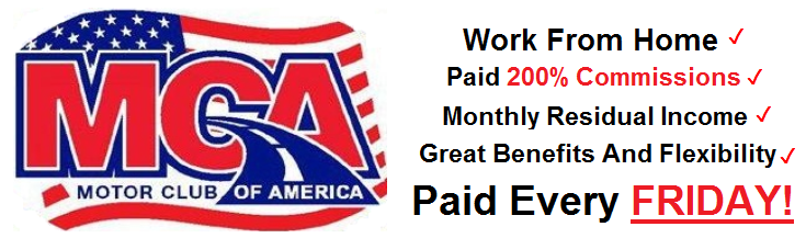 Work from home with mca motor club of america february 2015 for Mca motor club of america money