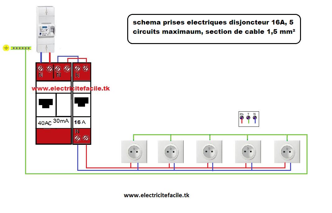 norme prise electrique sch ma de branchement prise lectrique norme montage prise prises. Black Bedroom Furniture Sets. Home Design Ideas