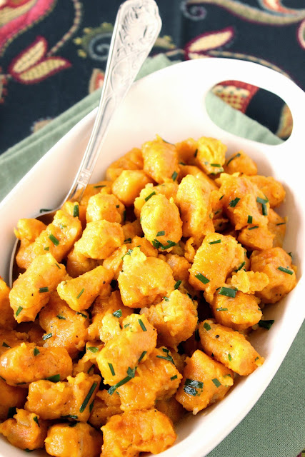 Butternut Squash and Potato Gnocchi