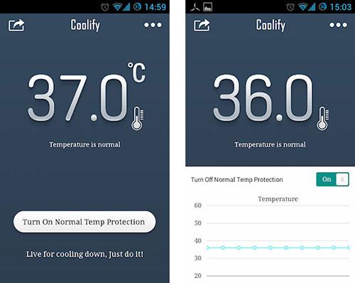 Coolify - aplikasi pendingin untuk android