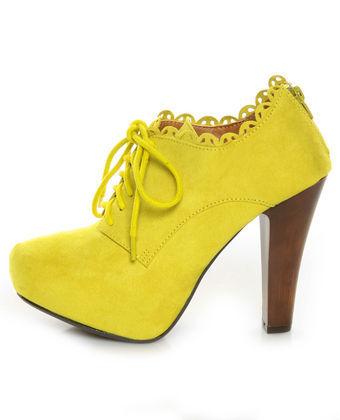 1001 fashion trends Neon pumps Neon shoes #0: Neon pumps (32) JPG
