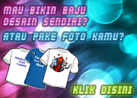 Print Foto kamu dan pacar di Kaos