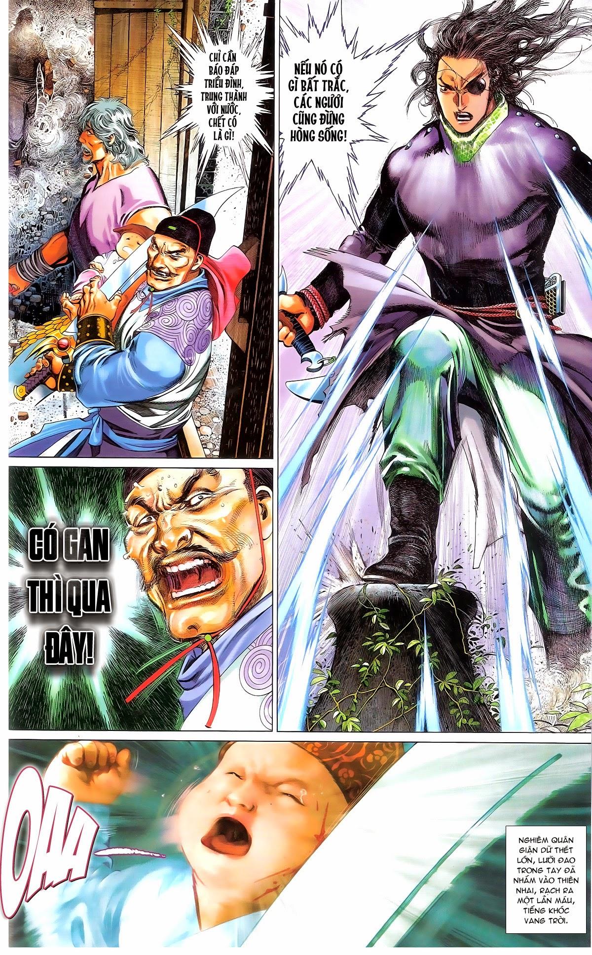 Phong Vân chap 674 – End Trang 74 - Mangak.info