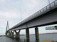 Suomen pisin silta. Raippaluodon silta.