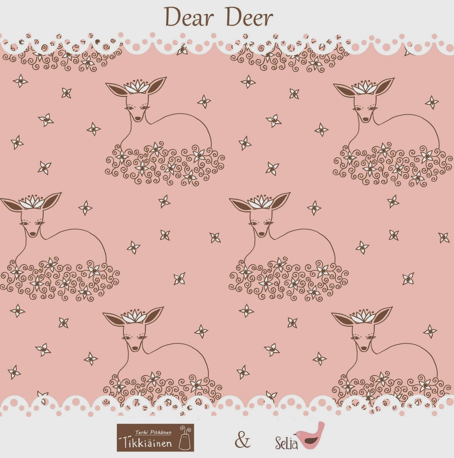 Dear Deer velour myynnissä Seliassa!