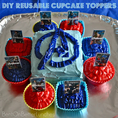 Homemade Avengers Table Decorations | The I Feel Alive Lifestyle