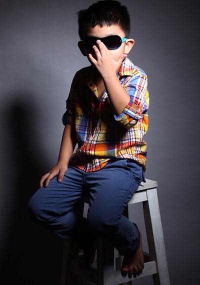 Mới 5 tuổi, Minh Duy đã tự chọn cho mình phong cách ăn