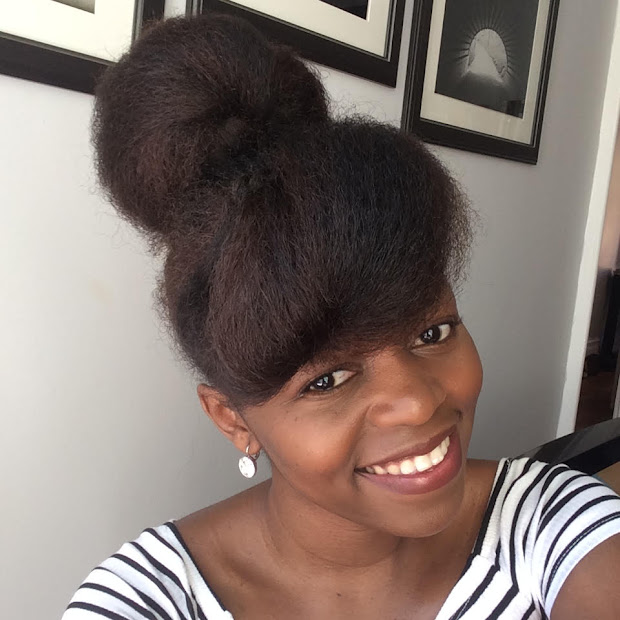 1 bun 3 ways - natural hair protective