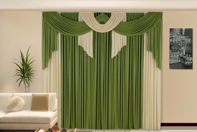 Cortinas de luxo luxos e luxos for Modelos de cortinas para sala 2016