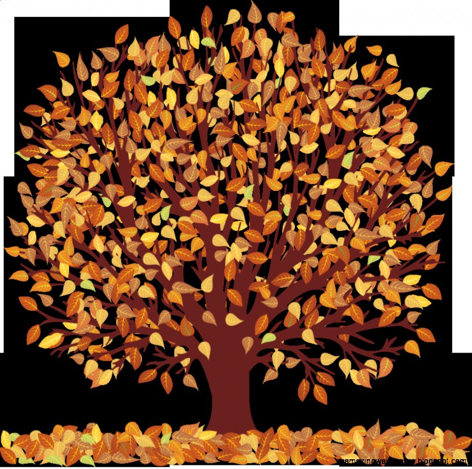Trees Fall Clipart