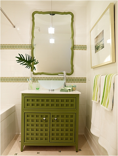 Young Girls or Boy Bathroom Ideas- this room is for when the kids have to  share done by Designer Sarah Richardson