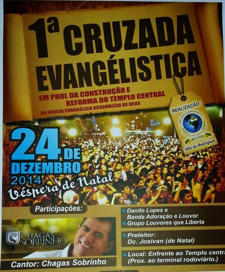 Cruzada Evangelistica em Alto do Rodrigues