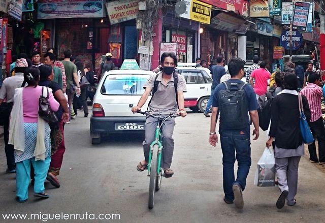 Bicicleta-Katmandu