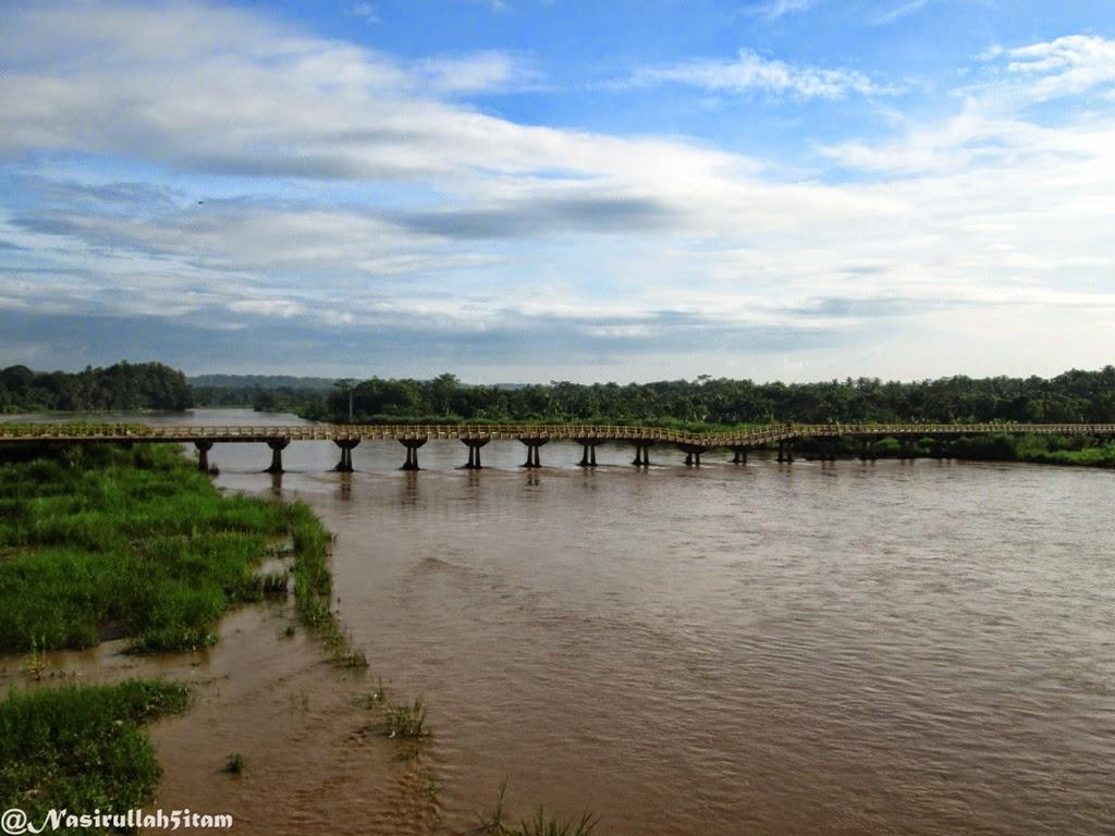 Jembatan Srandakan yang lama