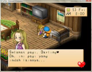 Harvest Moon Ps1 + Emulatornya