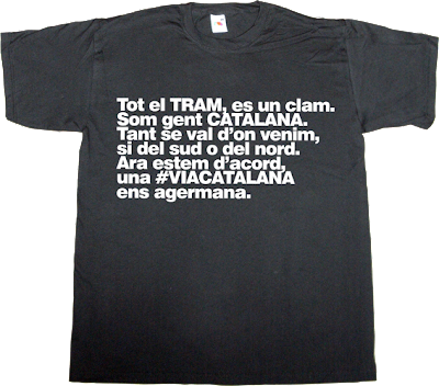 barça, fc Barcelona catalan catalonia freedom independence referendum 11 septembre 11S t-shirt ephemeral-t-shirts