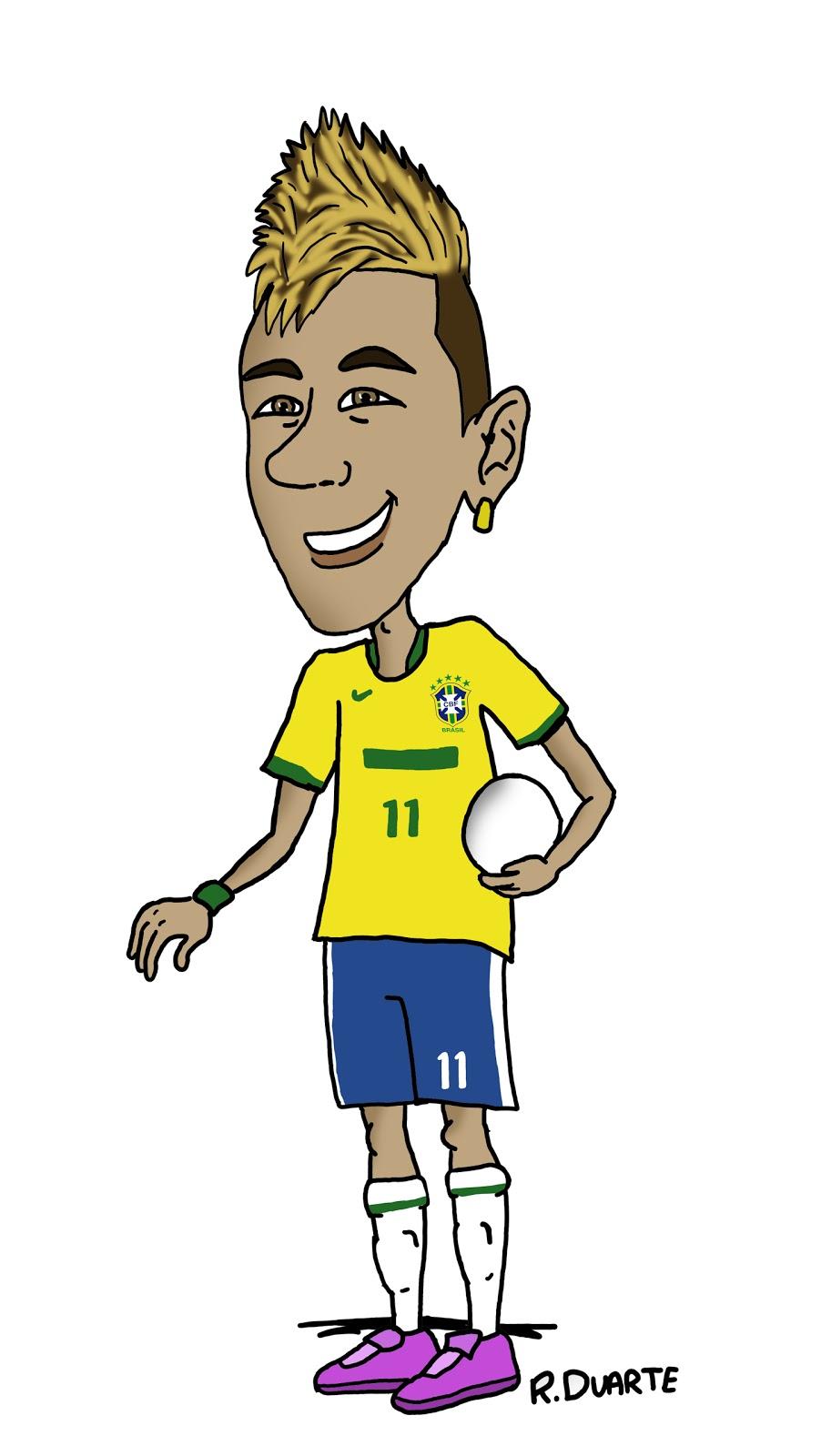 Neymar Cartoon Auto Design Tech