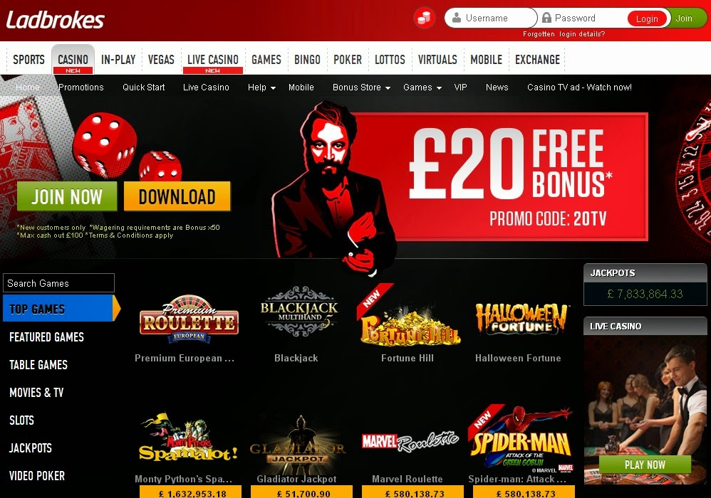ladbrokes casino promotions