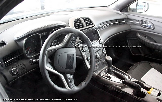 Spy Photos: 2012 Chevrolet Malibu Interior