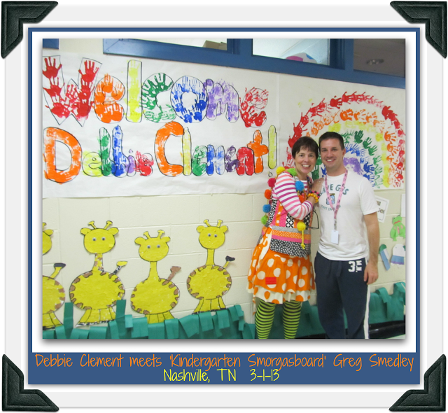 Debbie Clement and Greg Smedley of Kindergarten Smorgasboard