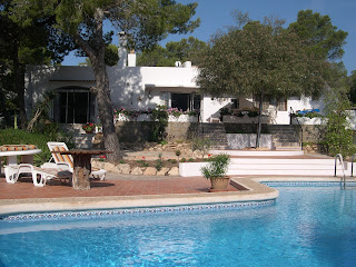 Villa and pool in Ibiza