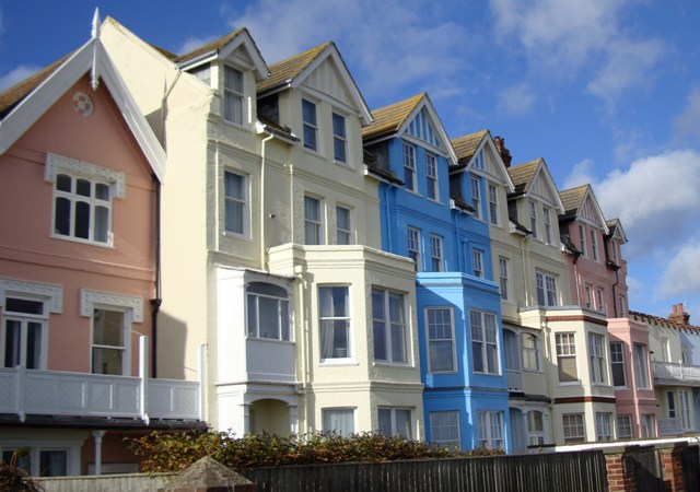 Houses in Aldeburgh, Suffolk