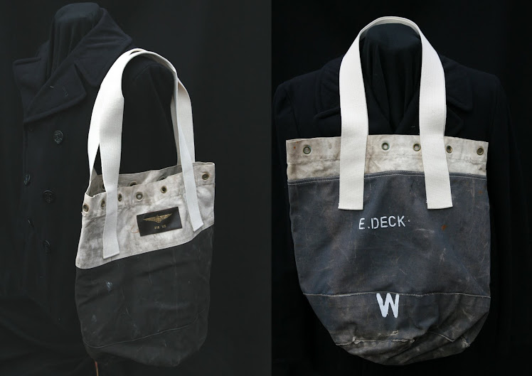 USAF &amp; USN HOLDALLS/ E.DECK-W