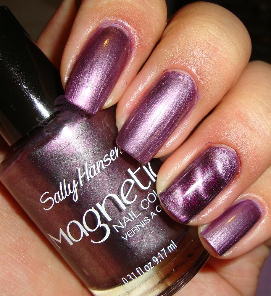 Sally Hansen Magnetic Nail Color   Hiiyooitscat Beauty Diaries