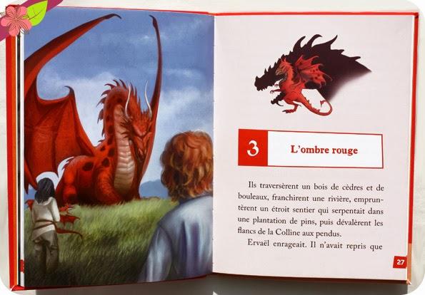 """""""L'enfant-dragon Tome 1 : La première flamme"""", d'Éric Sanvoisin, illustrations de Krystal Camprubi"""