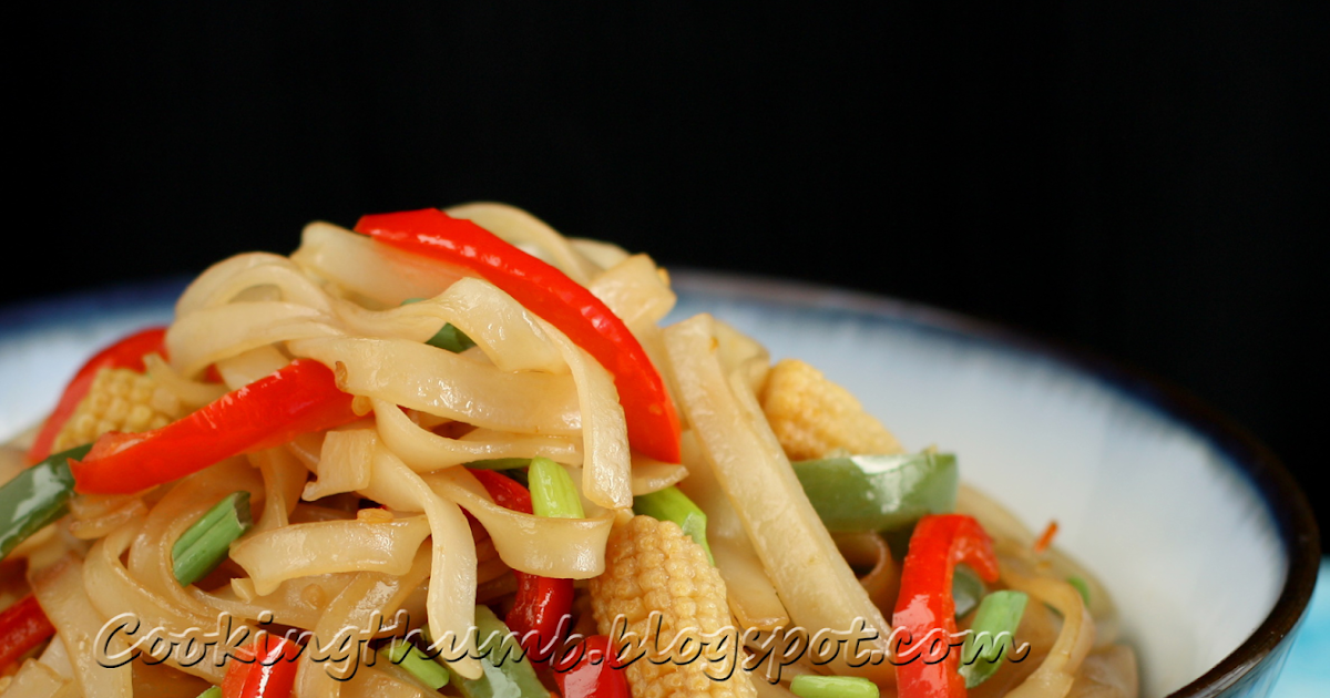how to make thai drunken noodles