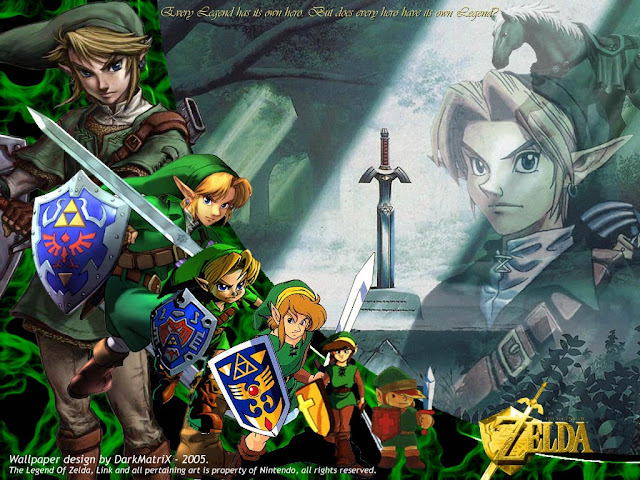 the legend of zelda nintendo game