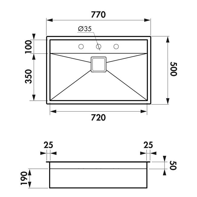 Fregadero inox 39 bajo ventana 39 tu cocina y ba o for Dimensiones fregadero