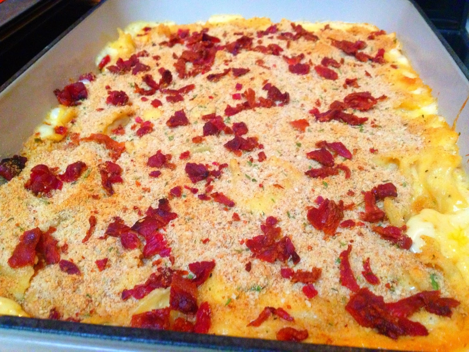 ... bacon cheddar mac n cheese recipe yummly white cheddar bacon mac n