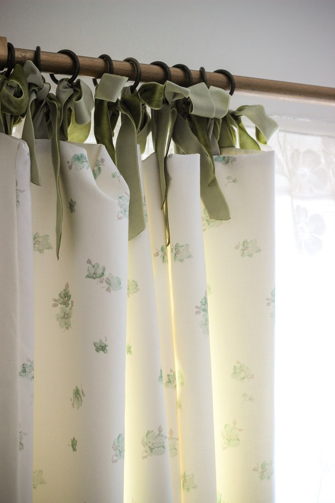 Curtains With Ribbon Ties Ballet Flats with Ribbon Ties