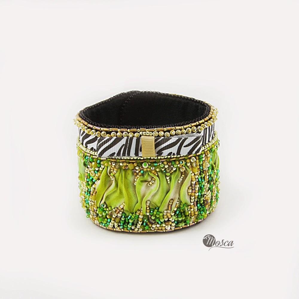 biżuteria shibori