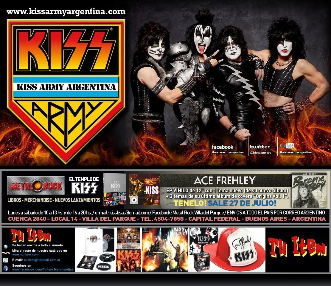 Kiss Army Argentina