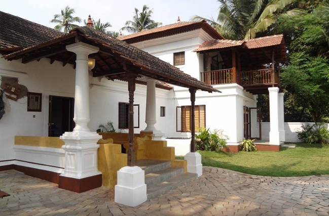 Stay in homes like this amazing Goan House via AirBnB