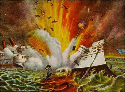 Uss maine explosion yellow journalism