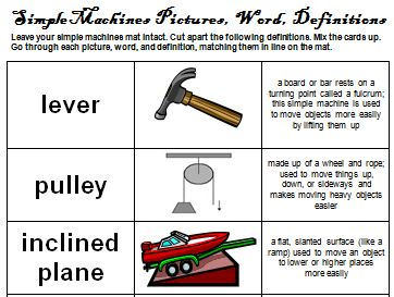 simple machine definitions for