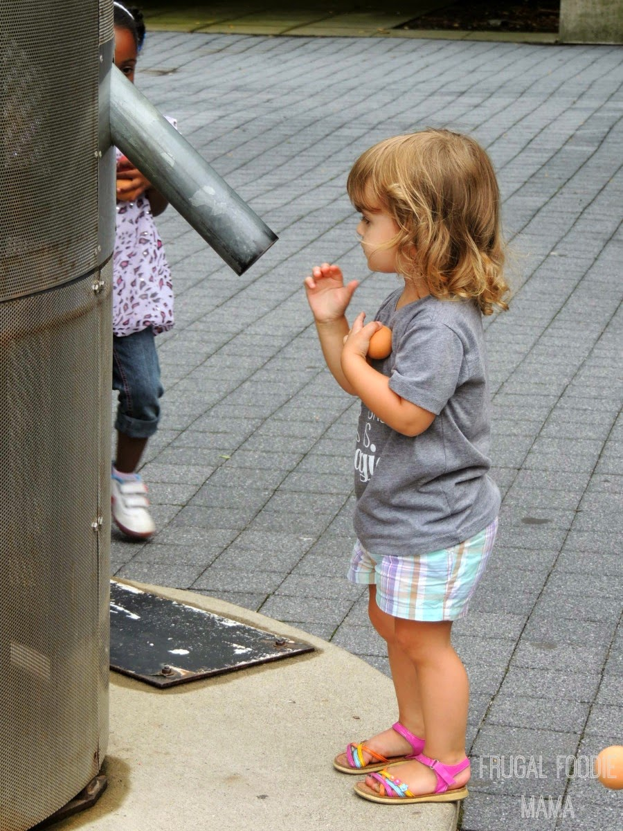 Fun for the entire family awaits at COSI in Columbus, OH via thefrugalfoodiemama.com #familytravel