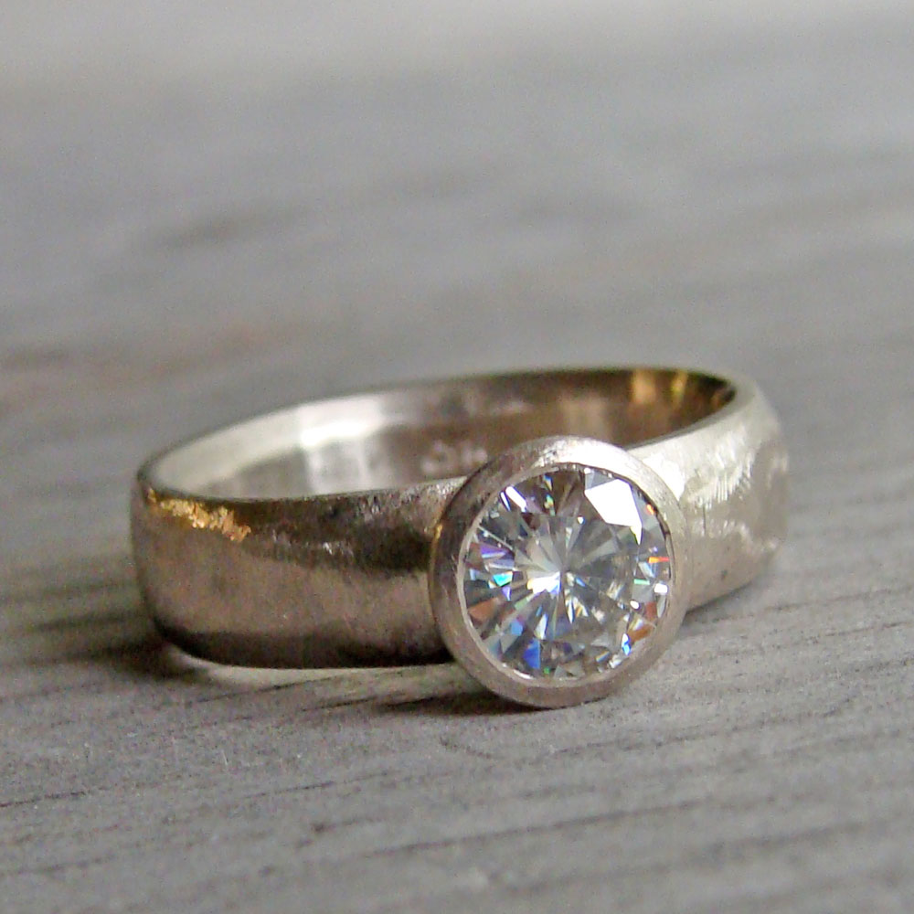 Mcfarland designs ethical jewelry using fair trade for Ethical wedding rings