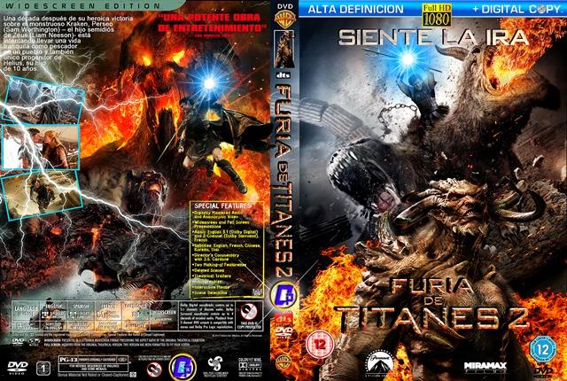 Titanic 2012 Dvd Furia de Titanes 2 2012